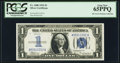 Small Size:Silver Certificates, Fr. 1606 $1 1934 Silver Certificate. PCGS Gem New 65PPQ.. ...