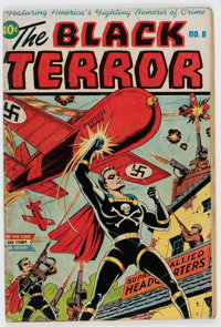 Black Terror #8 (Nedor Publications, 1944) Condition: GD/VG
