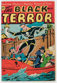 Black Terror #14 (Nedor Publications, 1946) Condition: VG/FN