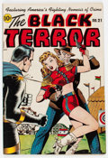 Golden Age (1938-1955):Superhero, Black Terror #21 (Nedor Publications, 1948) Condition: VG....