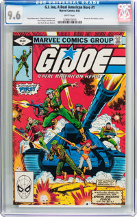 G. I. Joe, A Real American Hero #1 (Marvel, 1982) CGC NM+ 9.6 White pages