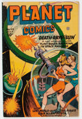 Golden Age (1938-1955):Science Fiction, Planet Comics #43 (Fiction House, 1946) Condition: VG....