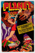 Golden Age (1938-1955):Science Fiction, Planet Comics #45 (Fiction House, 1946) Condition: VG....