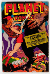 Planet Comics #45 (Fiction House, 1946) Condition: VG