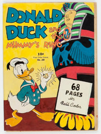 Four Color #29 Donald Duck (Dell, 1943) Condition: Apparent PR