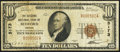 National Bank Notes:Indiana, Bedford, IN - $10 1929 Ty. 1 The Citizens NB Ch. # 5173. ...