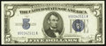 Small Size:Silver Certificates, Fr. 1654 $5 1934D Narrow Silver Certificate. Choice Crisp Uncirculated.. ...