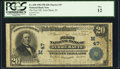 National Bank Notes:Indiana, Terre Haute, IN - $20 1902 Plain Back Fr. 650 The First NB Ch. # (M)47. ...