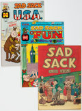 Bronze Age (1970-1979):Humor, Sad Sack Travel Related File Copy Comics Group of 90 (Harvey, 1951-74) Condition: Average VF/NM.... (Total: 90 Comic Books)