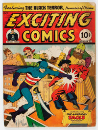 Exciting Comics #22 (Nedor/Better/Standard, 1942) Condition: FR