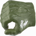 "Miscellaneous Collectibles:General, Stan Lee Signed ""Hulk"" Fist. ..."