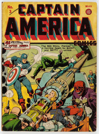Captain America Comics #3 (Timely, 1941) Condition: Apparent PR