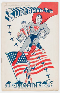 Superman-Tim 9/42 (DC, 1942) Condition: VG-