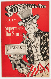 Superman-Tim 7/44 (DC, 1944) Condition: FN-