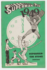 Superman-Tim 1/49 (DC, 1949) Condition: FN/VF