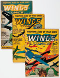 Wings Comics Group of 22 (Fiction House, 1943-54) Condition: Average VG.... (Total: 22 Comic Books)