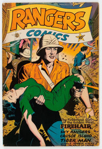 Rangers Comics #30 (Fiction House, 1946) Condition: FN