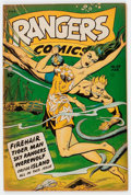Golden Age (1938-1955):Miscellaneous, Rangers Comics #39 (Fiction House, 1948) Condition: FN....