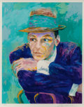 Fine Art - Work on Paper:Print, LeRoy Neiman (American, 1921-2012). Frank Sinatra.Silkscreen in colors. 27-1/2 x 22 inches (69.9 x 55.9 cm) (image).Ed...
