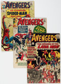 Silver Age (1956-1969):Superhero, The Avengers Group of 36 (Marvel, 1964-73) Condition: Average GD/VG.... (Total: 36 Comic Books)