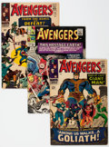 Silver Age (1956-1969):Superhero, The Avengers Group of 56 (Marvel, 1965-78) Condition: Average VG.... (Total: 56 Comic Books)