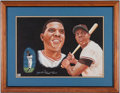 Baseball Collectibles:Photos, Willie Mays Signed Print....