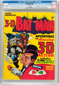 Silver Age (1956-1969):Superhero, 3-D Batman #nn Boston Pedigree (DC, 1966) CGC VF/NM 9.0 White pages....