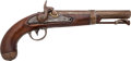 Handguns:Muzzle loading, A. Waters Model Army 1836 Conversion Percussion Pistol....