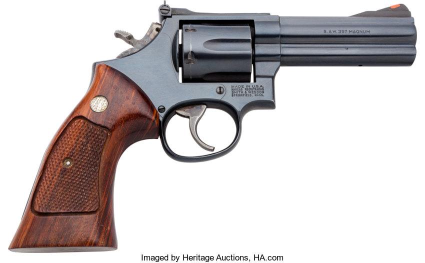 HandgunsDouble Action Revolver Smith Amp Wesson Model 586 3 Double