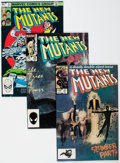 Modern Age (1980-Present):Superhero, The New Mutants Box Lot (Marvel, 1983-85) Condition: AverageVF/NM....