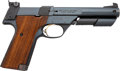 Handguns:Semiautomatic Pistol, High Standard Model 106 Military Supermatic Trophy Semi-Automatic Target Pistol....
