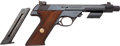 Handguns:Semiautomatic Pistol, High Standard Model 104 Supermatic Citation Semi-Automatic TargetPistol AKA Space Gun....
