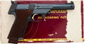 Handguns:Semiautomatic Pistol, Boxed High Standard Supermatic Trophy Model 106 MilitarySemi-Automatic Pistol....