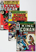 Modern Age (1980-Present):Science Fiction, King Conan Short Box Group (Marvel, 1980-83) Condition: AverageVF/NM....