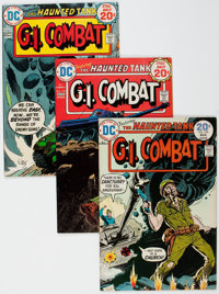 G.I. Combat Short Box Group (DC, 1974-84) Condition: Average VF/NM