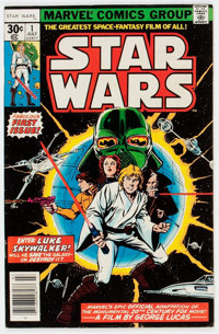 Star Wars #1 (Marvel, 1977) Condition: VG+