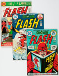 Silver Age (1956-1969):Superhero, The Flash Short Box Group (DC, 1974-92) Condition: Average VF/NM....