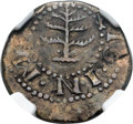 1652 6PENCE Pine Tree Sixpence, Pellets at Trunk -- Scratches -- NGC Details. XF. Noe-33, W-670, Salmon 3-B, R.3....(PCG...