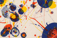 Sam Francis (American, 1923-1994) Untitled, pl. 7, from The Pasadena Box series