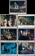"""Movie Posters:Science Fiction, First Men in the Moon (Columbia, 1964). Color Photos (7) (8"""" x10""""), Title Lobby Card, & Lobby Cards (3) (8"""" X 10"""").Science... (Total: 11 Items)"""