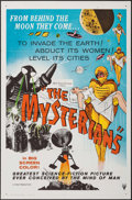 "Movie Posters:Science Fiction, The Mysterians (RKO, 1959). One Sheet (27"" X 41"") Flat Folded.Science Fiction.. ..."