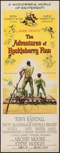 "Movie Posters:Adventure, The Adventures of Huckleberry Finn (MGM, 1960). Inserts (4)Identical (14"" X 36""). Adventure.. ... (Total: 4 Items)"