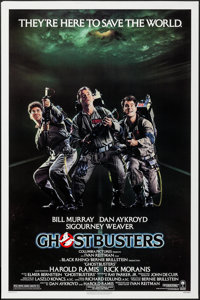 "Ghostbusters (Columbia, 1984). One Sheet (27"" X 41""). Comedy"