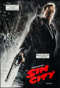 """Movie Posters:Crime, Sin City (Dimension, 2005). One Sheets (2) (27"""" X 40"""") SS Bruce Willis & Rosario Dawson Styles. Crime.. ... (Total: 2 Items)"""
