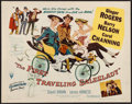 """Movie Posters:Comedy, The First Traveling Saleslady & Others Lot (RKO, 1956). Half Sheets (4)(22"""" X 28"""") Style B & Uncut Lobby Card Sets of 4 (3) ... (Total: 7 Items)"""