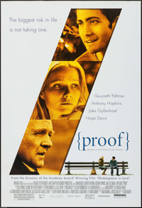 """Proof (Miramax, 2005). One Sheets (39) Identical (27"""" X 40"""") SS. Drama. ... (Total: 39 Items)"""
