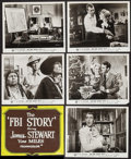 "Movie Posters:Crime, The FBI Story (Warner Brothers, 1959). Photos (104) & Locally Produced Silk-Screen Cards (3) (Approx. 8"" x 10""). Crime.. ... (Total: 107 Items)"
