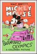 "Movie Posters:Animation, Barnyard Olympics (Circle Fine Art, R-1980s). Fine Art Serigraphs (3) (21"" X 30.75""). Animation.. ... (Total: 3 Items)"