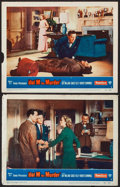 "Movie Posters:Hitchcock, Dial M for Murder (Warner Brothers, 1954). Lobby Cards (2) (11"" X 14""). Hitchcock.. ... (Total: 2 Items)"