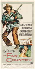 "Movie Posters:Western, The Far Country (Universal International, 1955). Three Sheet (41"" X80""). Western.. ..."